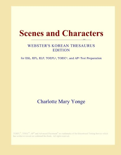 9780546803891: Scenes and Characters (Webster's Korean Thesaurus Edition)