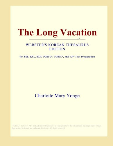 9780546803983: The Long Vacation (Webster's Korean Thesaurus Edition)