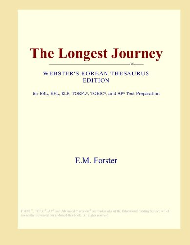 9780546805703: The Longest Journey (Webster's Korean Thesaurus Edition)