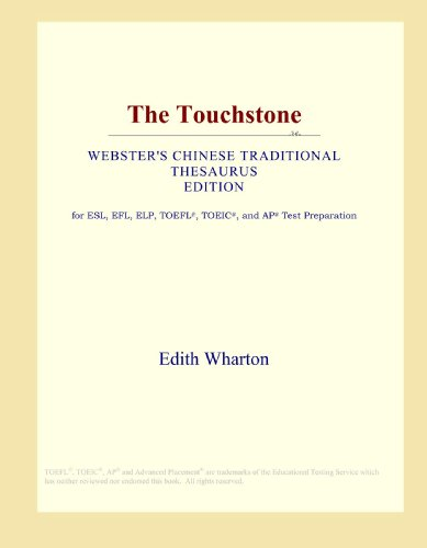 9780546806410: The Touchstone (Webster's Chinese Traditional Thesaurus Edition)