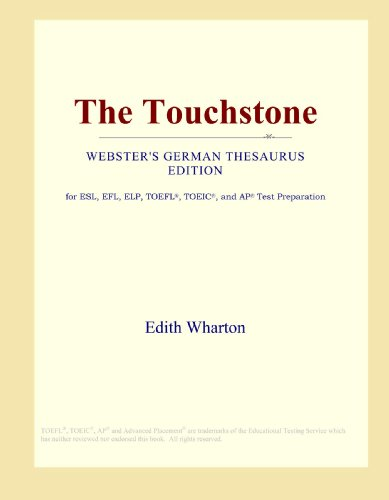 9780546806427: The Touchstone (Webster's German Thesaurus Edition)