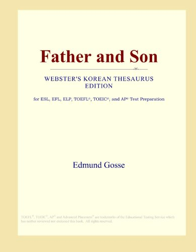 9780546806472: Father and Son (Webster's Korean Thesaurus Edition)