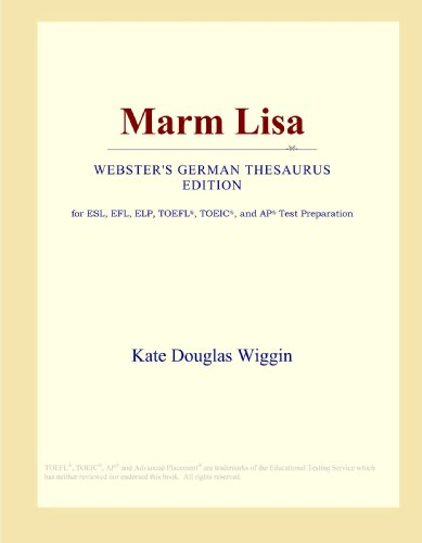 9780546812374: Marm Lisa (Webster's German Thesaurus Edition)