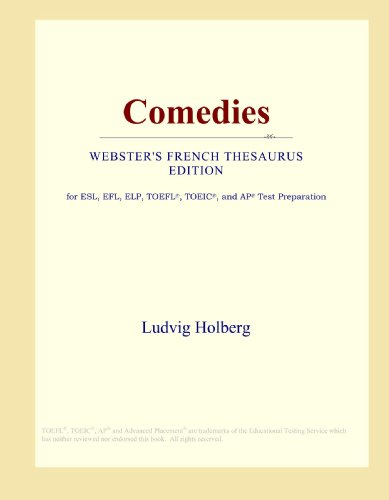 9780546813548: Comedies (Webster's French Thesaurus Edition)
