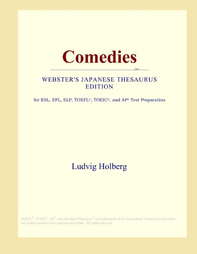 9780546813555: Comedies (Webster's Japanese Thesaurus Edition)