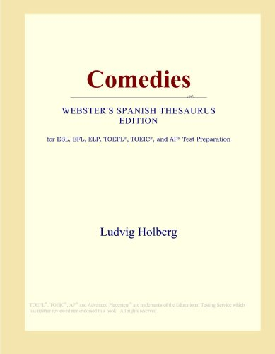 9780546813562: Comedies (Webster's Spanish Thesaurus Edition)