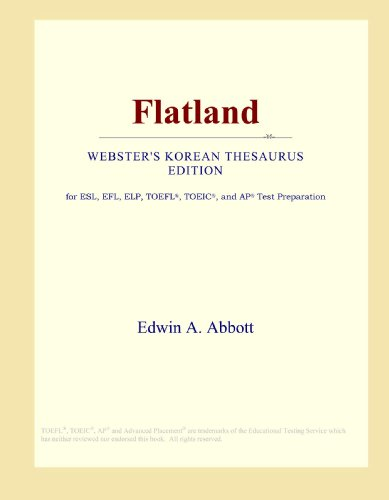 9780546830378: Flatland (Webster's Korean Thesaurus Edition)