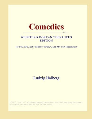 9780546838886: Comedies (Webster's Korean Thesaurus Edition)