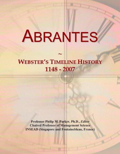 9780546853070: Abrantes: Webster's Timeline History, 1148 - 2007