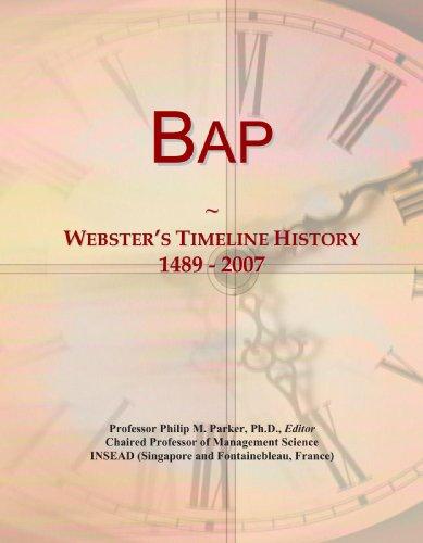9780546866285: Bap: Webster's Timeline History, 1489 - 2007