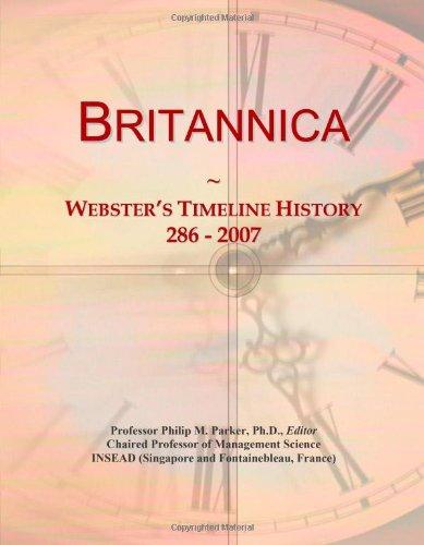 9780546871128: Britannica: Webster's Timeline History, 286 - 2007