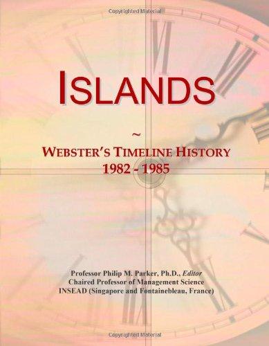 9780546879476: Islands: Webster's Timeline History, 1982 - 1985