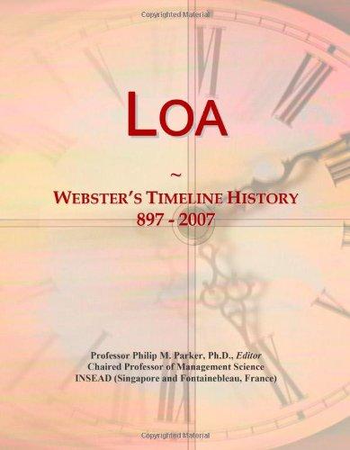 9780546880953: Loa: Webster's Timeline History, 897 - 2007