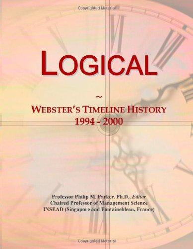 9780546881417: Logical: Webster's Timeline History, 1994 - 2000