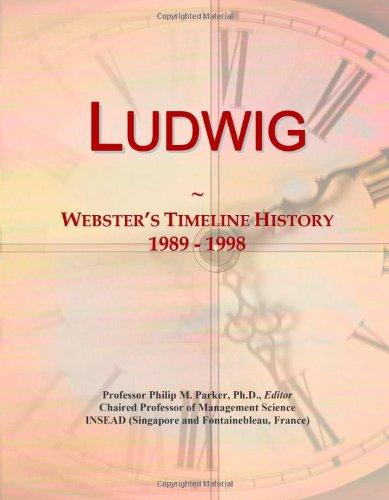 9780546882865: Ludwig: Webster's Timeline History, 1989 - 1998