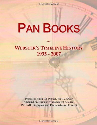 9780546887617: Pan Books: Webster's Timeline History, 1935 - 2007