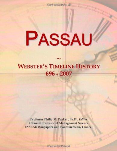 Passau: Webster's Timeline History, 696 - 2007: Icon Group International
