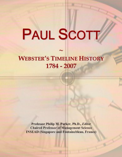 9780546889383: Paul Scott: Webster's Timeline History, 1784 - 2007