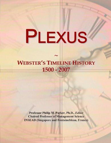 9780546894424: Plexus: Webster's Timeline History, 1500 - 2007