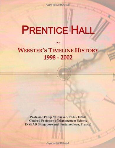 9780546895292: Prentice Hall: Webster's Timeline History, 1998 - 2002