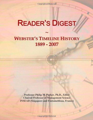 9780546895797: Reader's Digest: Webster's Timeline History, 1889 - 2007