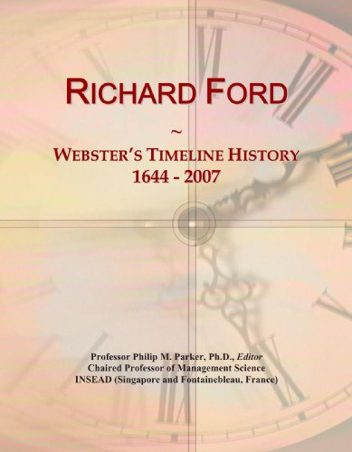 9780546896022: Richard Ford: Webster's Timeline History, 1644 - 2007