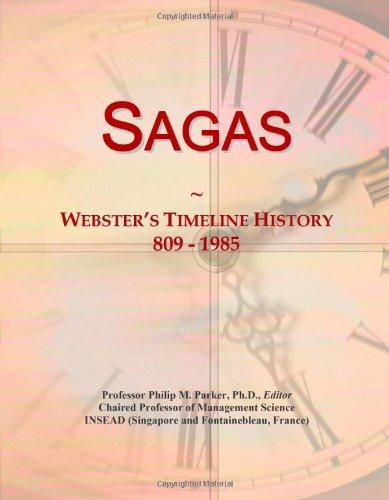 9780546897814: Sagas: Webster's Timeline History, 809 - 1985