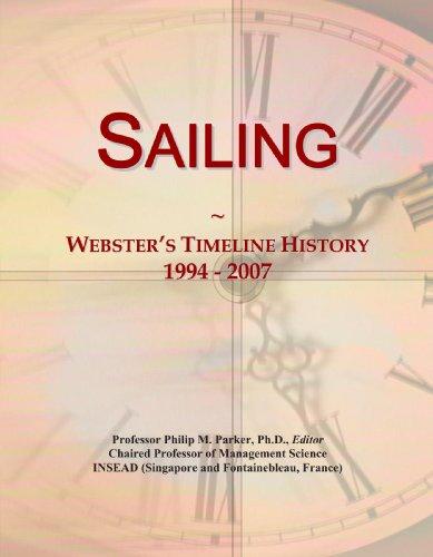 9780546897982: Sailing: Webster's Timeline History, 1994 - 2007