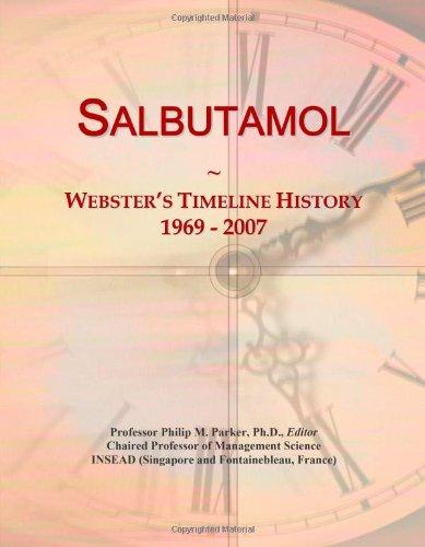 9780546898415: Salbutamol: Webster's Timeline History, 1969 - 2007