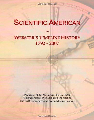 9780546900248: Scientific American: Webster's Timeline History, 1792 - 2007