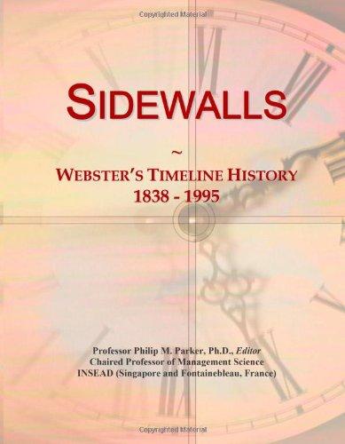 9780546902310: Sidewalls: Webster's Timeline History, 1838 - 1995