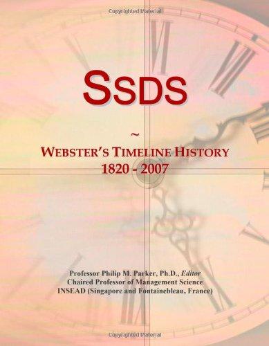 9780546905472: Ssds: Webster's Timeline History, 1820 - 2007