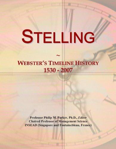 9780546905946: Stelling: Webster's Timeline History, 1530 - 2007