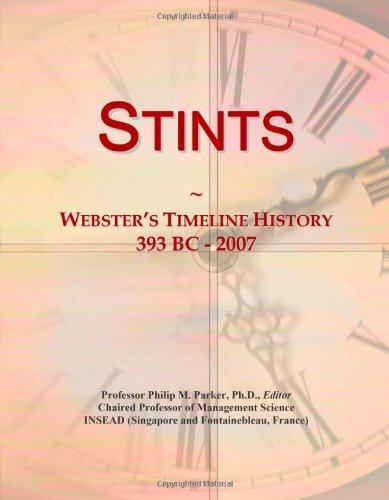 9780546906271: Stints: Webster's Timeline History, 393 BC - 2007