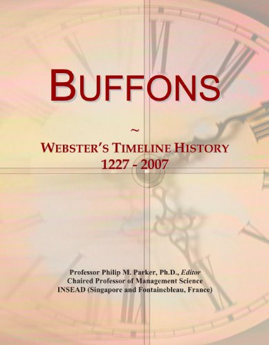9780546942668: Buffons: Webster's Timeline History, 1227 - 2007