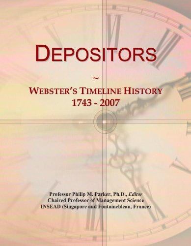 9780546951325: Depositors: Webster's Timeline History, 1743 - 2007