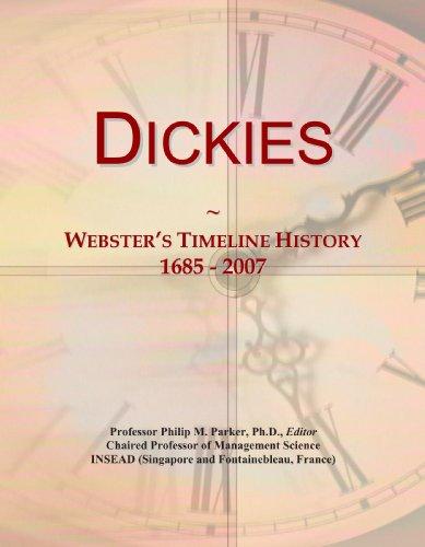 9780546952131: Dickies: Webster's Timeline History, 1685 - 2007