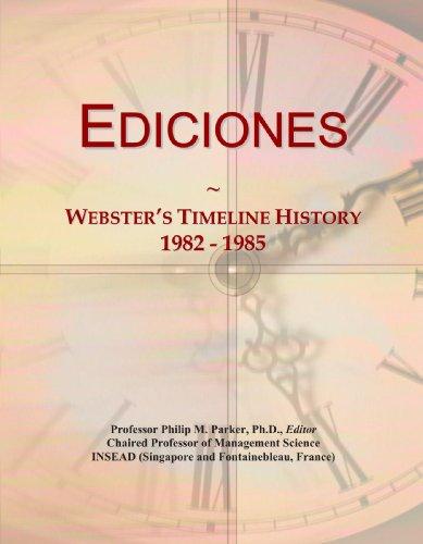 9780546957129: Ediciones: Webster's Timeline History, 1982 - 1985