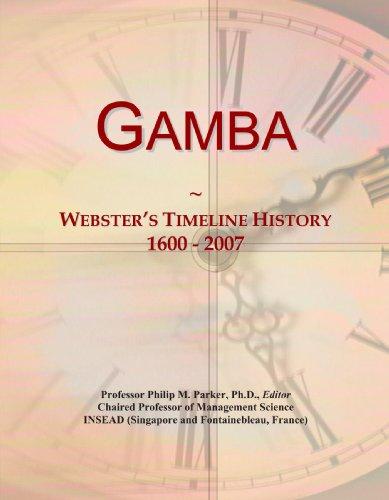 9780546980318: Gamba: Webster's Timeline History, 1600 - 2007