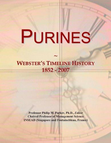9780546991130: Purines: Webster's Timeline History, 1852 - 2007