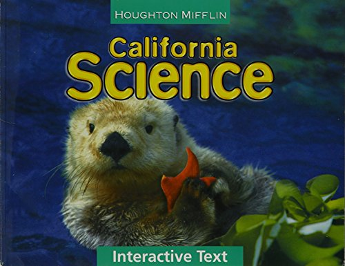 9780547004617: Houghton Mifflin Science California: Worktexts Level 1