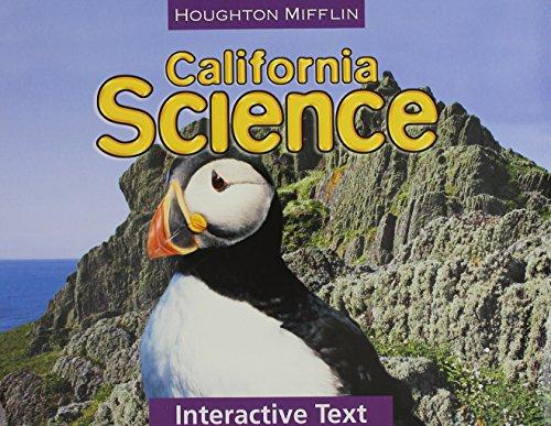9780547004631: Houghton Mifflin Science California: Worktexts Level 3
