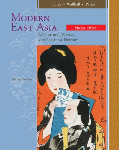 9780547005362: Modern East Asia: A Cultural, Social, and Political History, Vol. 2: From 1600