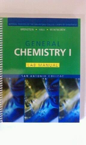 General Chemistry I - Lab Manual -: n/a