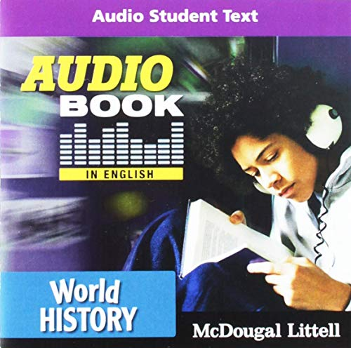 9780547013510: World History: Audio Book CD in English
