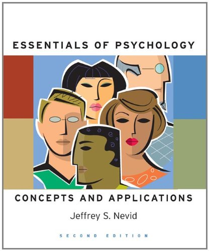 9780547014555: Essentials Of Psychology: Concepts and Applications