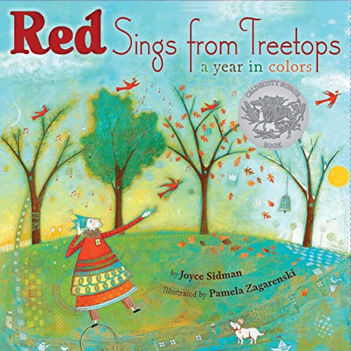 9780547014944: Red Sings from Treetops: A Year in Colors (Sidman, Joyce)