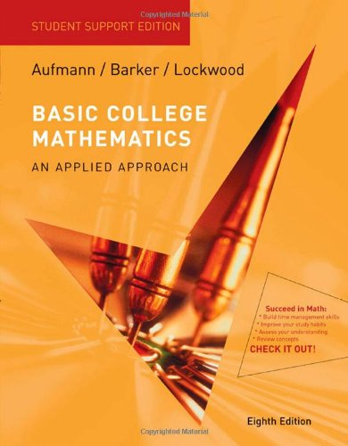 9780547016740: Basic College Mathematics An Applied Approach