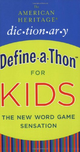 9780547026770: The American Heritage Dictionary Define-a-Thon for Kids