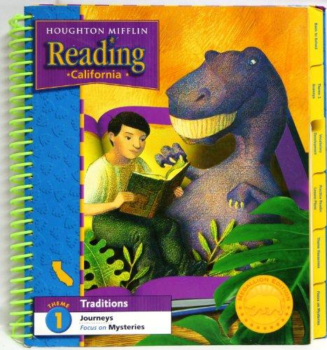 9780547033860: Houghton Mifflin Reading: California Teacher's Edition Theme 1 Traditions